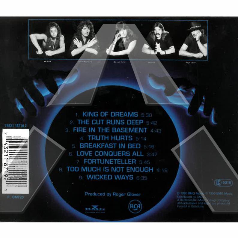 Deep Purple ★ Slaves and Masters (cd album EU 74321187192 signed)