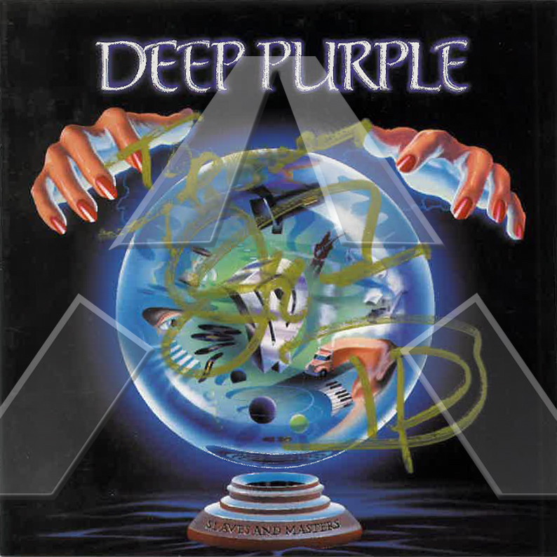 Deep Purple ★ Slaves and Masters (cd album EU 74321187192 signed)