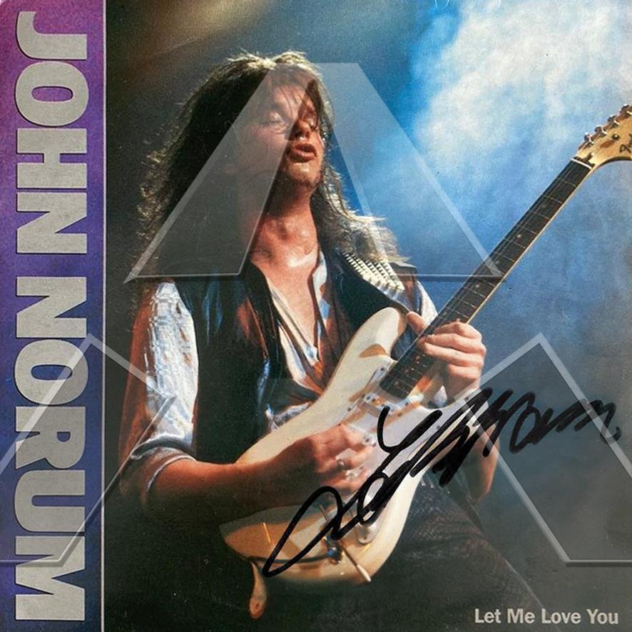John Norum ★ Let Me Love You (vinyl single - 2 versions)