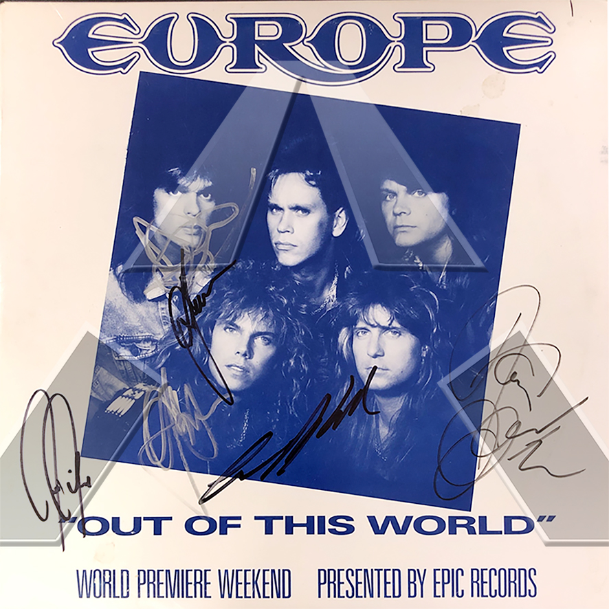 Europe ★ Out of This World (promo vinyl album - US AS1235)