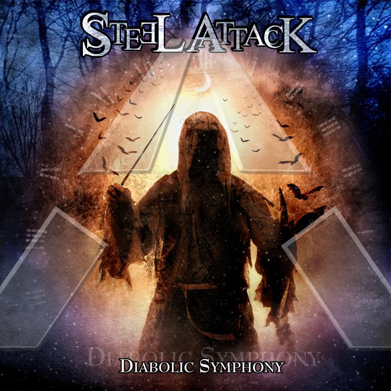 Steel Attack ★ Diabolic Symphony (cd / promo album EU)