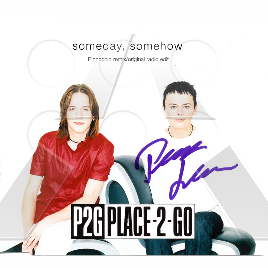 Place-2-Go ★ Someday Somehow (cd maxi single EU-signed)