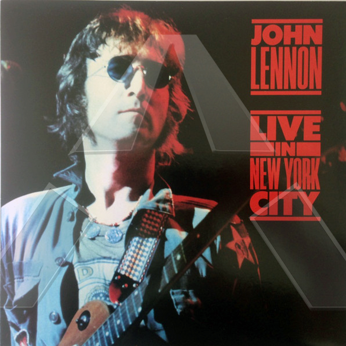 John Lennon ★ Live in New York City (vinyl album EU)
