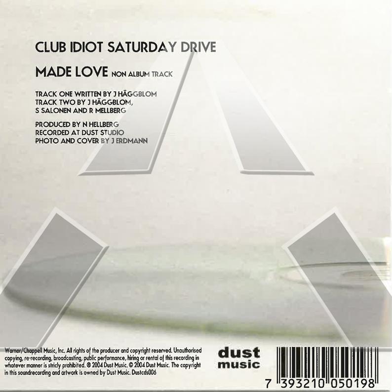 Gakko 3 ★ Club Idiot Saturday Drive (cd single EU)
