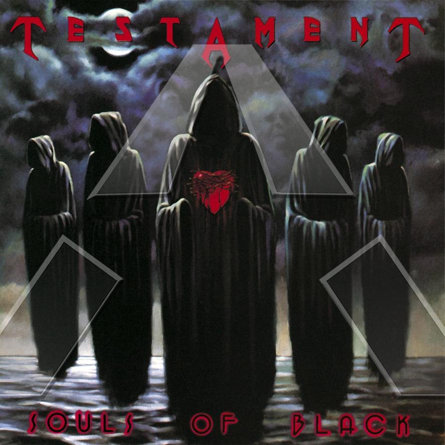 Testament ★ Souls of Black (cd album - EU 7567821432)