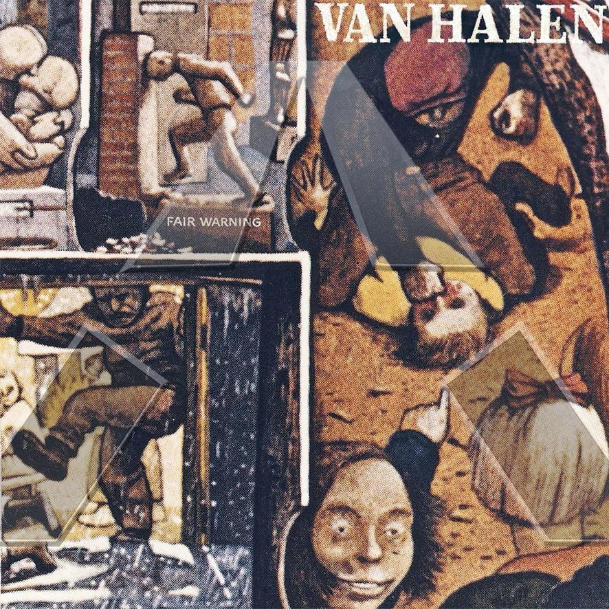 Van Halen ★ Fair Warning (cd album - EU 9362477402)