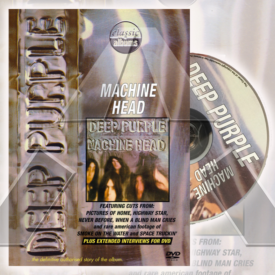 Deep Purple ★ Machine Head (dvd - EU EREDV259)