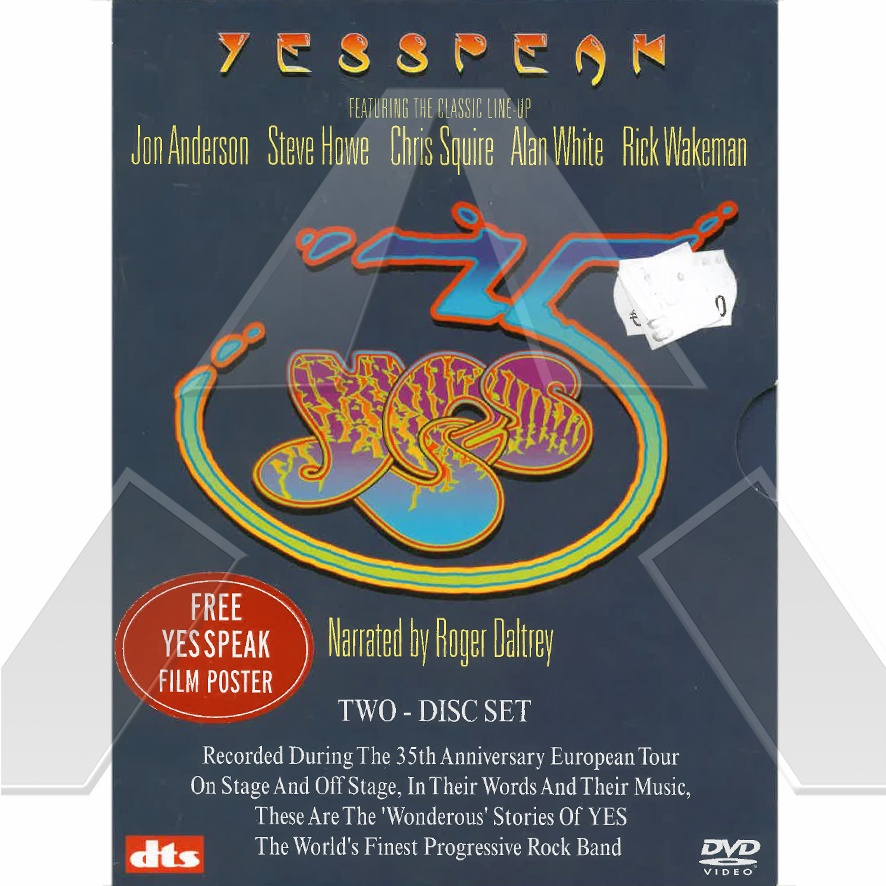 Yes ★ YesPeak (dvd EU)