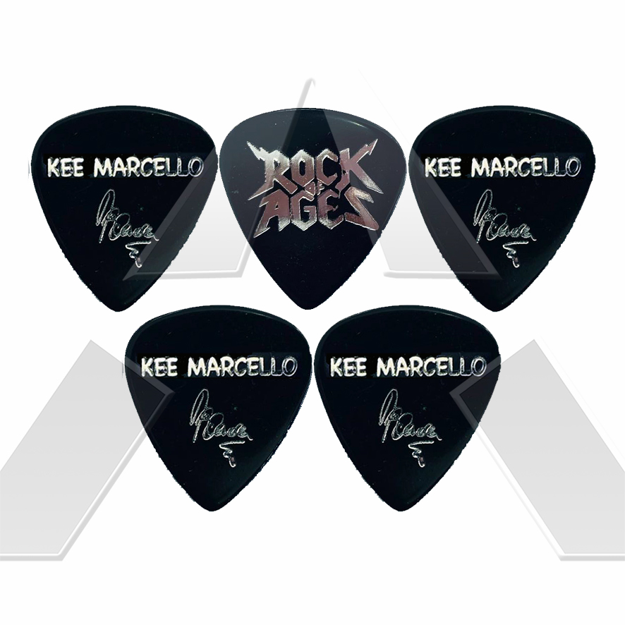 Kee Marcello ★ Signature - Rock of Ages (plectrum)
