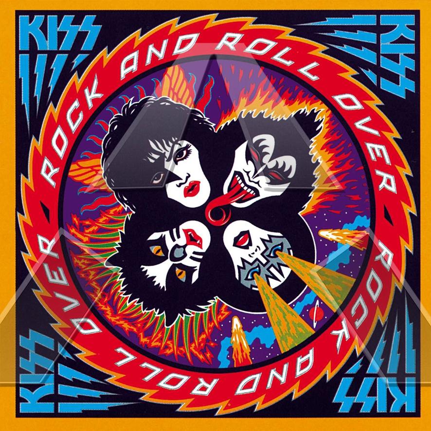 Kiss ★ Rock and Roll Over (vinyl album - US NBLP7037)