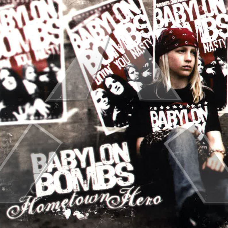 Babylon Bombs ★ Hometown Hero (cd single EU SMILCDS105)