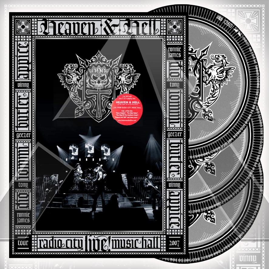 Heaven & Hell ★ Limited edition - Live From Radio City Music Hall (cd album & dvd - EU SPV98100