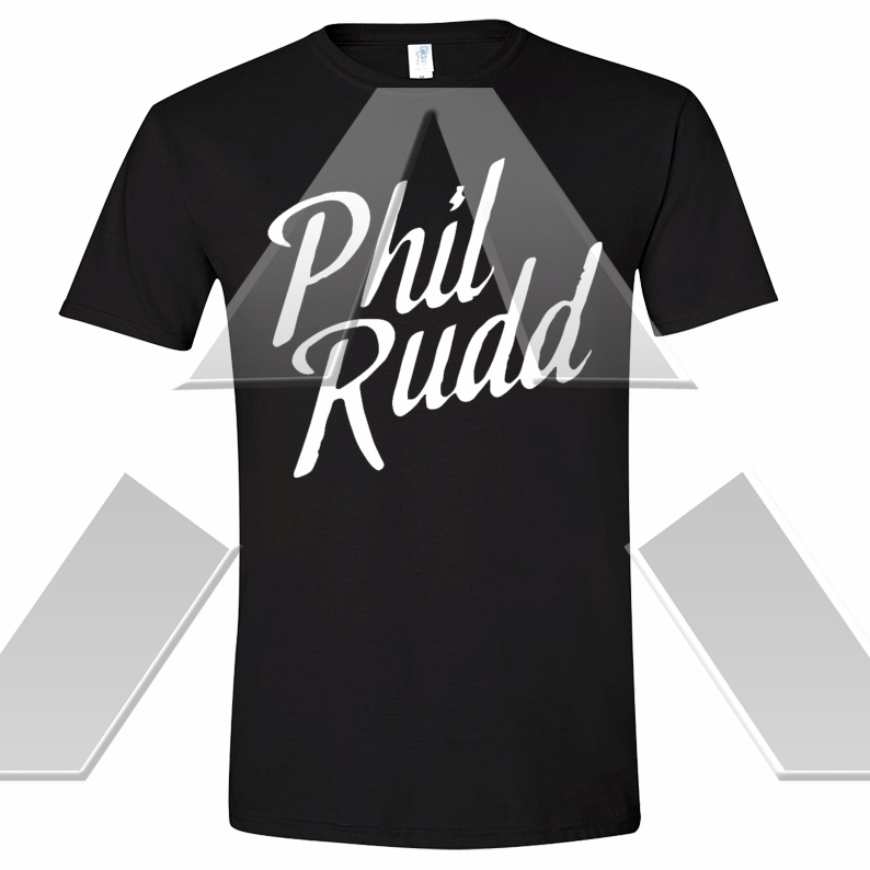 Phil Rudd ★ Logo (t-shirt)