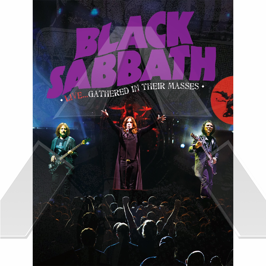 Black Sabbath ★ Live...Gathered In Their Masses (dvd EU)