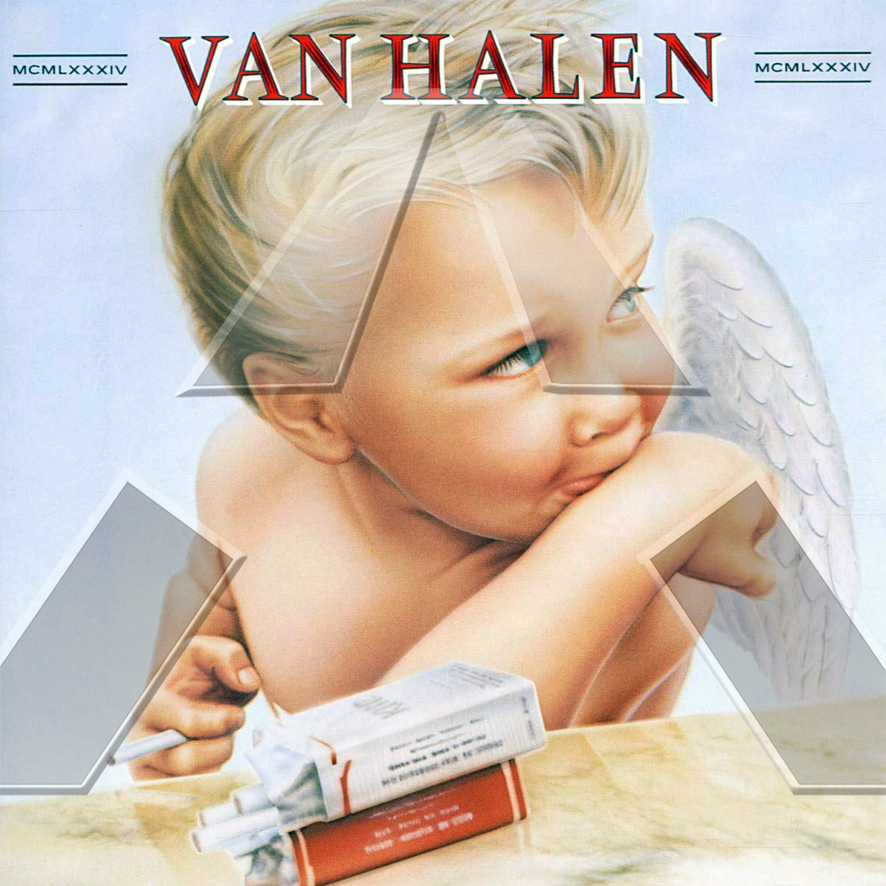 Van Halen ★ 1984 (cd album  - GER 7599239852)