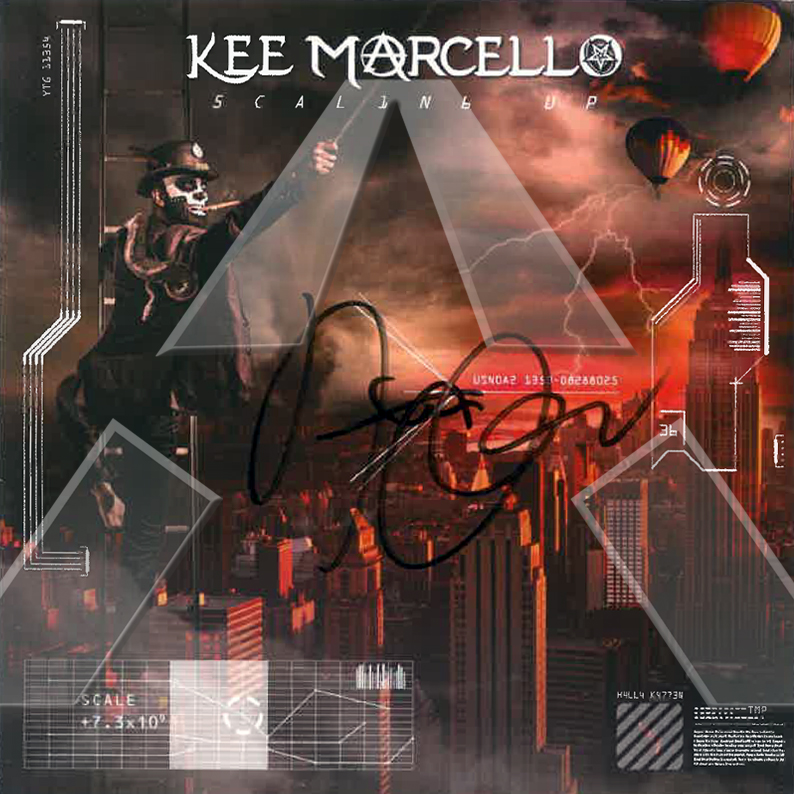 Kee Marcello ★ Scaling Up (album - 2 versions)