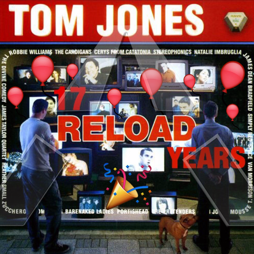 Tom Jones ★ Reload (cd album - EU VVR1009302)