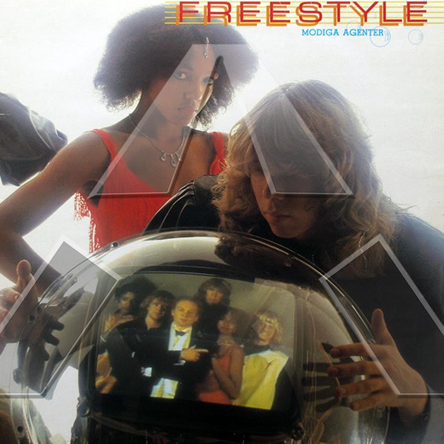 Freestyle ★ Modiga Agenter (vinyl album - SE SOSLP058)
