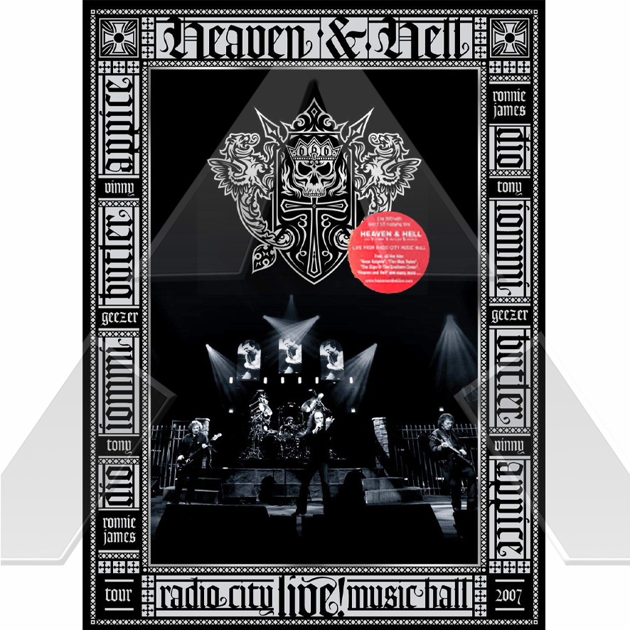 Heaven & Hell ★ Limited edition - Live From Radio City Music Hall (cd album & dvd EU