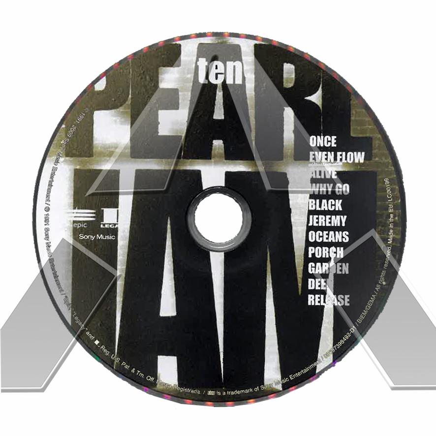 Pearl Jam ★ Ten - Deluxe Edition (cd album & dvd US 88697398492)