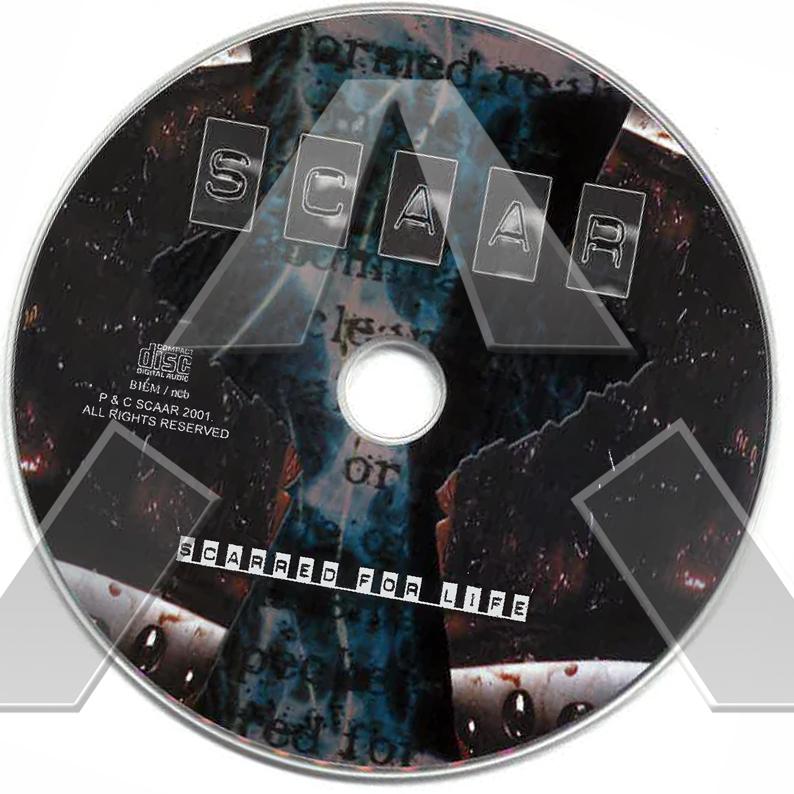 Scaar ★ Scared For Life (cd album EU SCAARCD001)