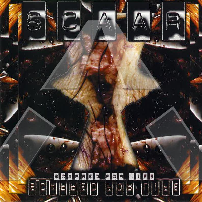 Scaar ★ Scared For Life (cd album)