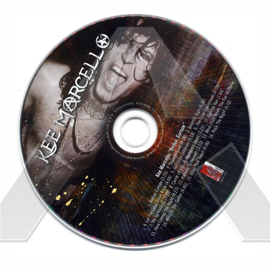 Kee Marcello ★ Redux: Europe (album - 2 versions)