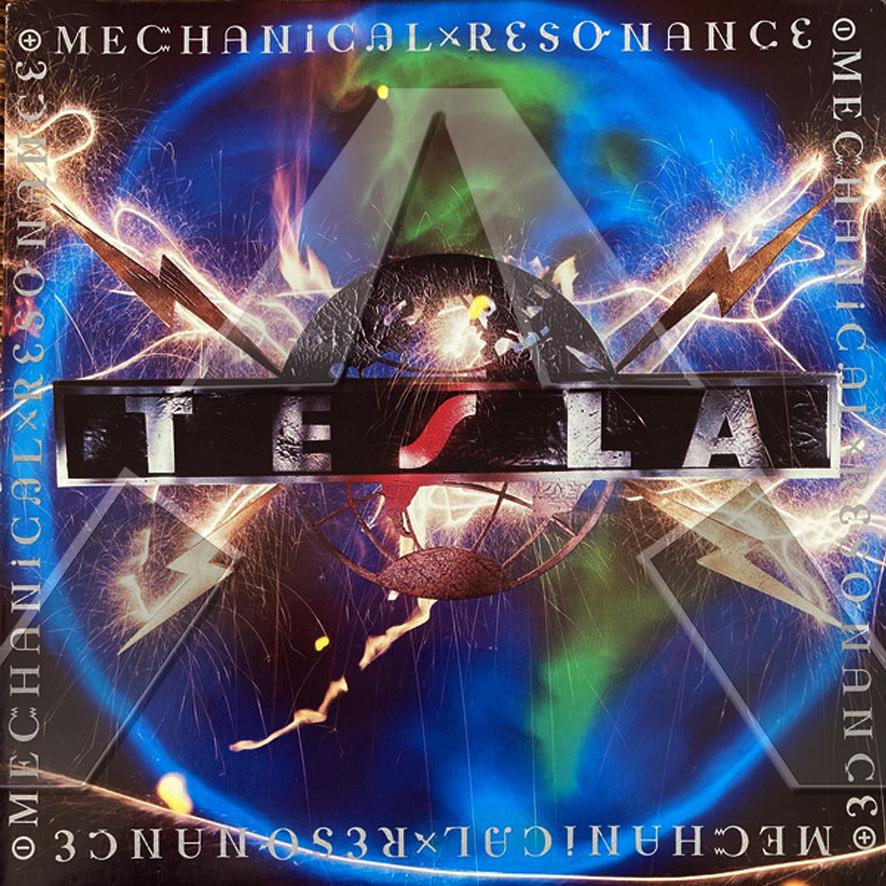 Tesla ★ Mechanical Resonance (cd album - EU GED24120)