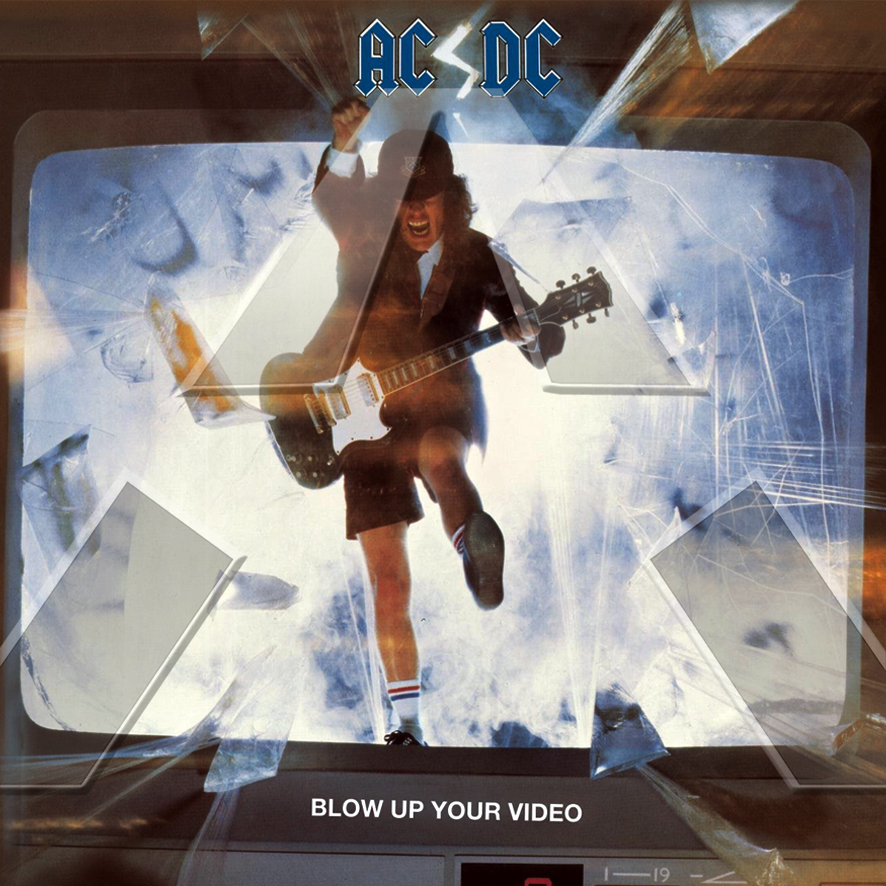 AC/DC ★ Blow Up Your Video (cd album EU 7818282)