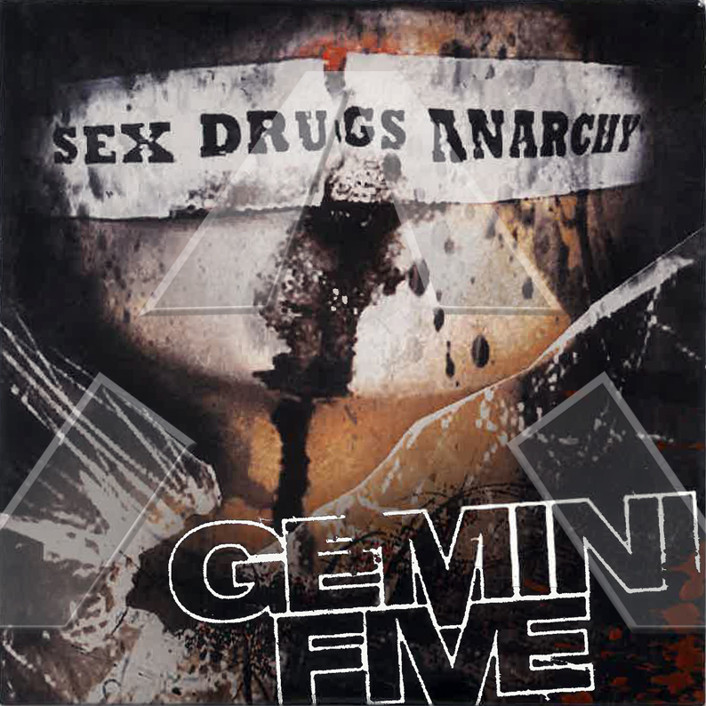 Gemini Five ★ Sex Drugs Anarchy (cd promo EU 052CDPROMO)