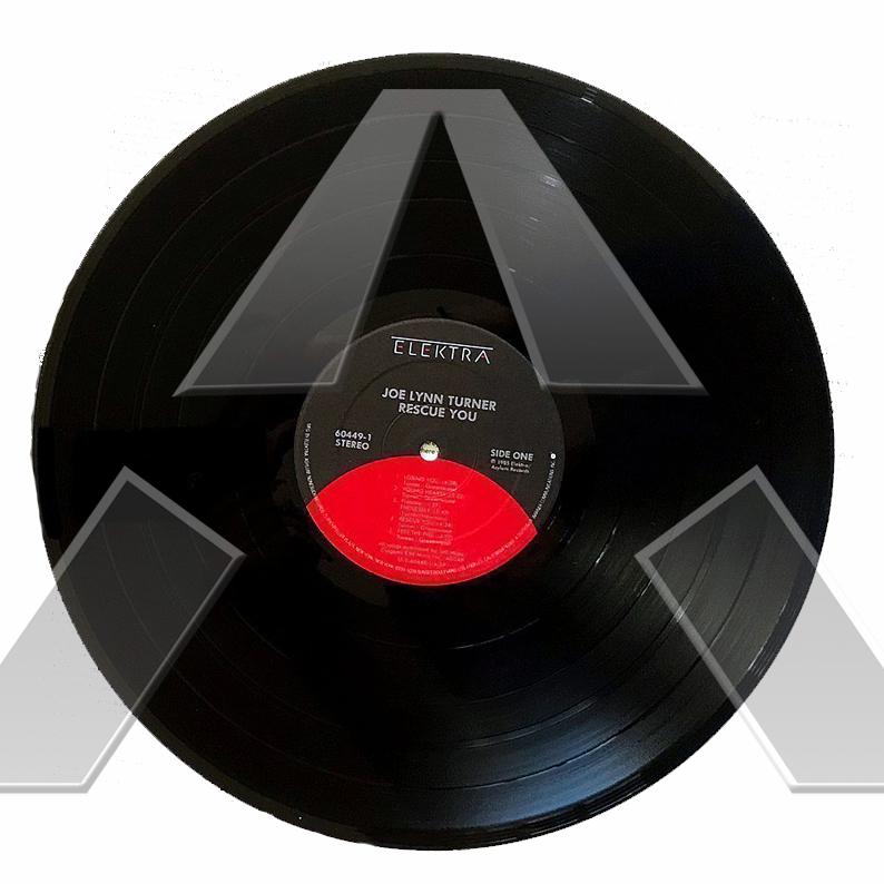 Joe Lynn Turner ★ Rescue You (vinyl album EU ST12521 signed)
