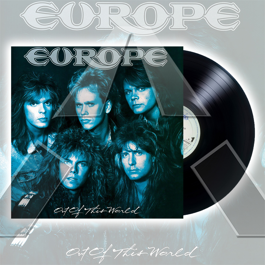 Europe ★ Out of This World (vinyl album - 2 versions)