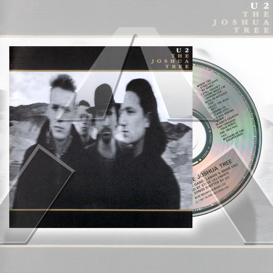 U2 ★ The Joshua Tree (cd album - EU CIDU26)