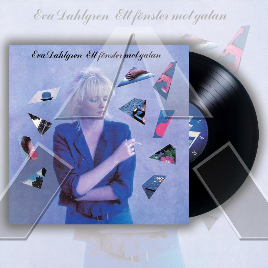 Eva Dahlgren ★ Ett Fönster Mot Gatan (vinyl album - SE POLS392)