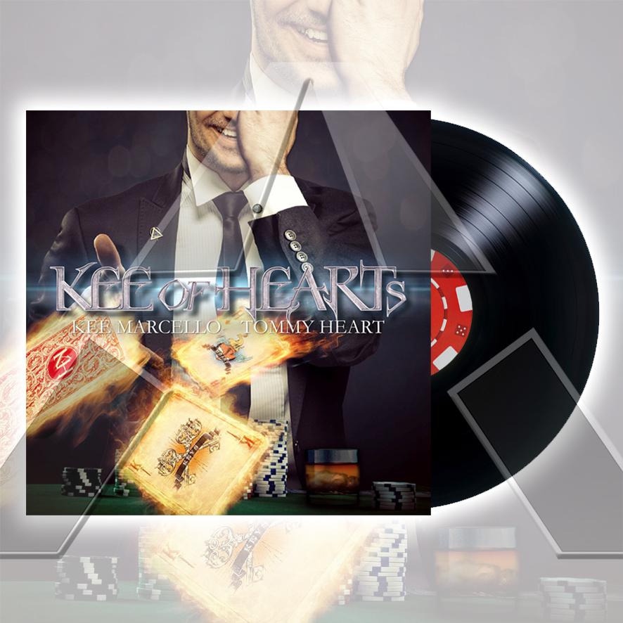 Kee of Hearts ★ Kee of Hearts (vinyl album - 2 versions)