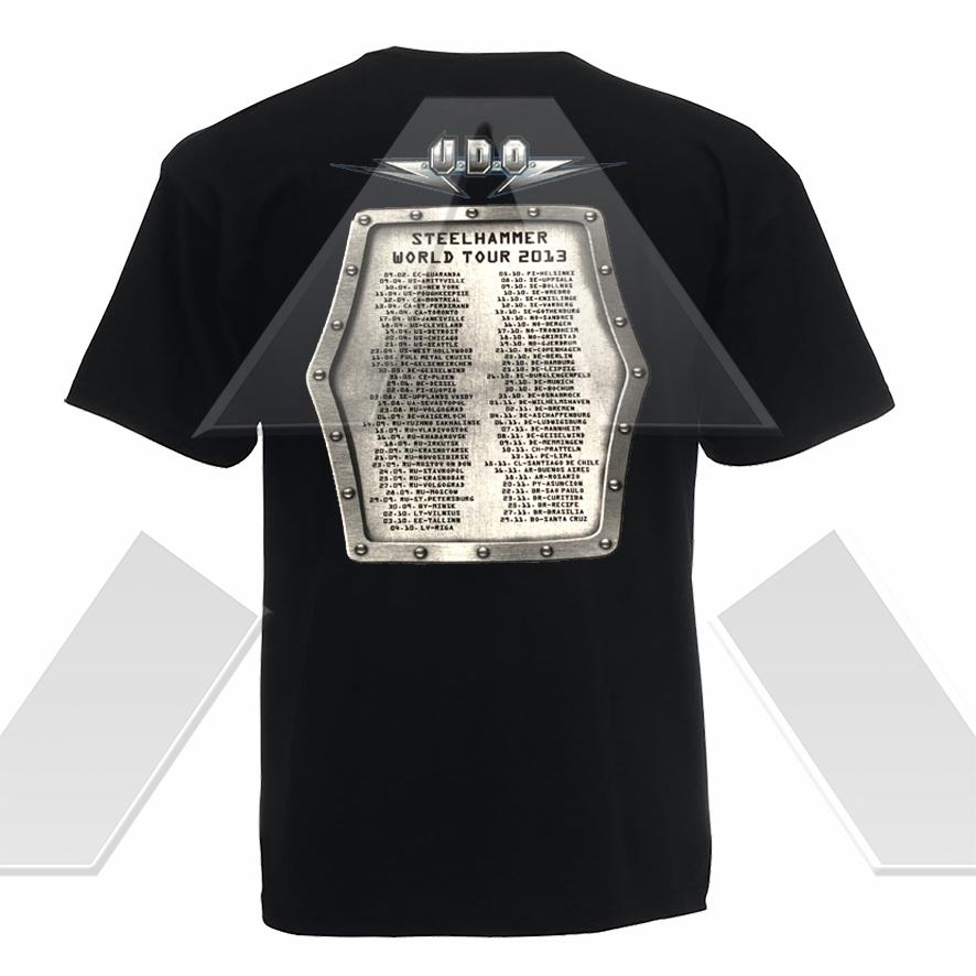 U.D.O. ★ Steelhammer World Tour 2013 (t-shirt)