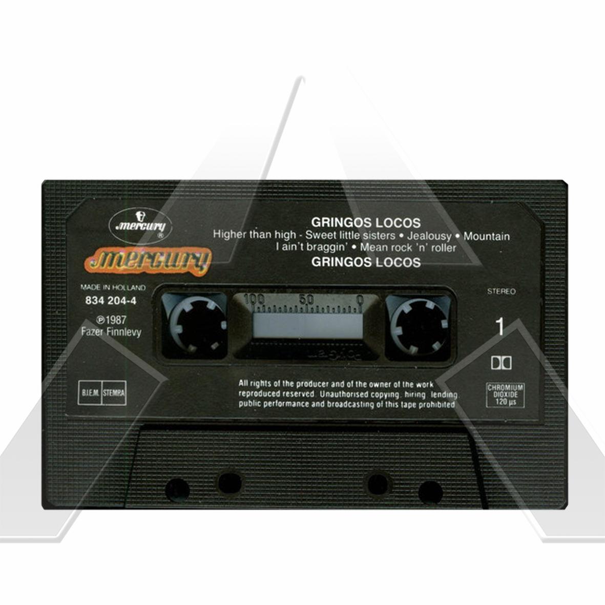 Gringos Locos ★ Gringos Locos (c-cassette EU 8342044)