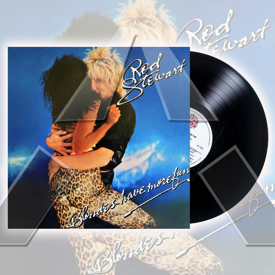 Rod Stewart ★ Blondes Have More Fun (vinyl album - 2 versions)