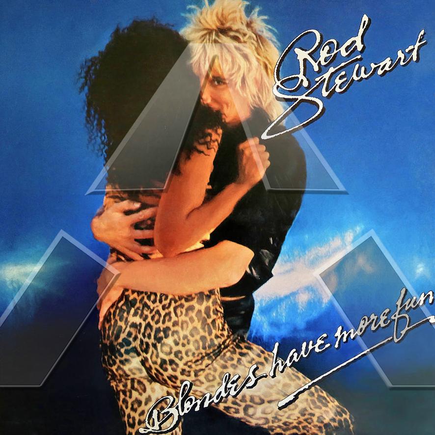Rod Stewart ★ Blondes Have More Fun (vinyl album - 2 versions)