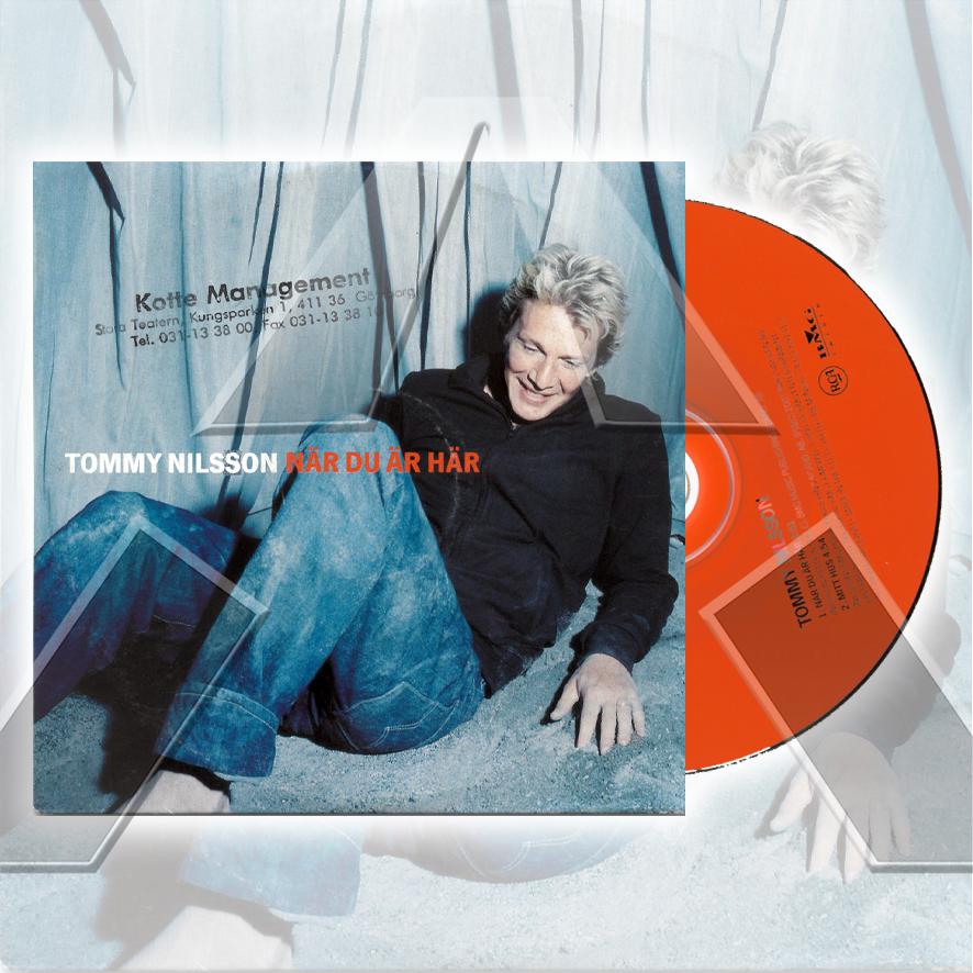 Tommy Nilsson ★ När Du Är Här (cd single - EU 74321891312)