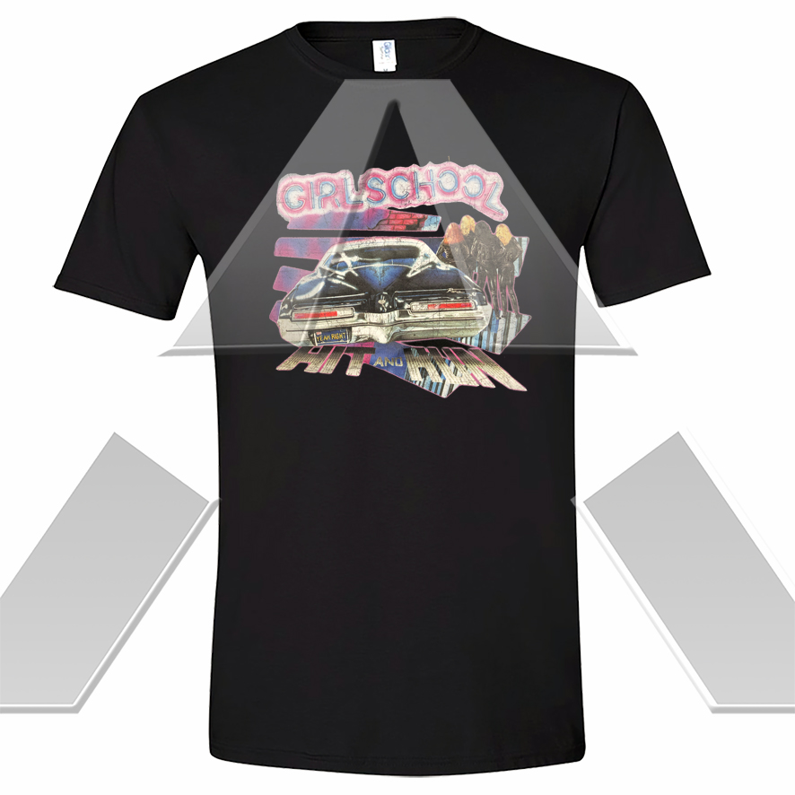 Girlschool ★ Hit and Run (t-shirt)