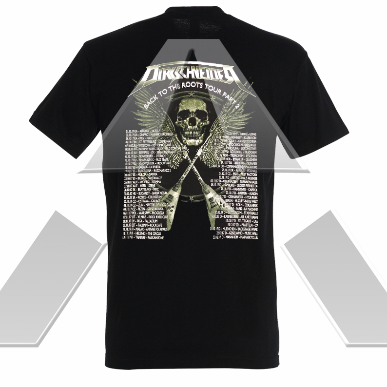 Dirkschneider ★ Back to the Roots part II Tour 2017 (t-shirt)