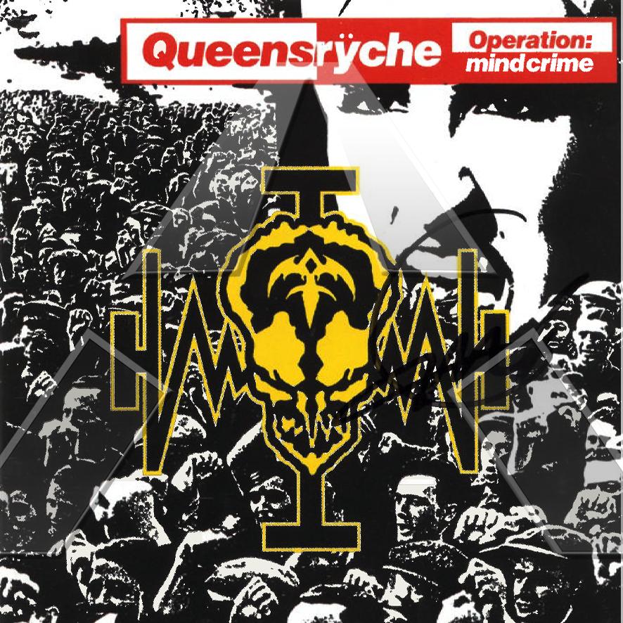 Queensrÿche ★ Operation Mindcrime  (cd album - 2 versions)