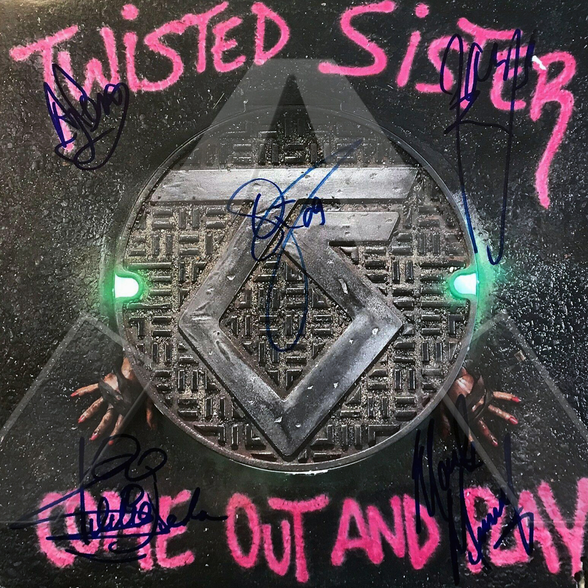 Twisted Sisters ★ Come Out and Play (vinyl album US 7567812751 signed)