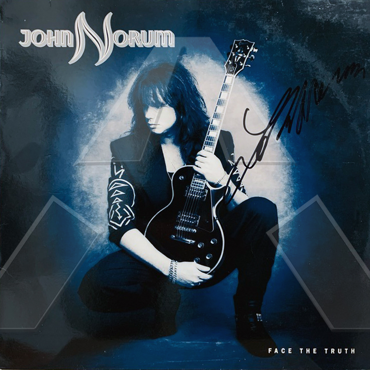 John Norum ★ Face the Truth (vinyl album EU signed)
