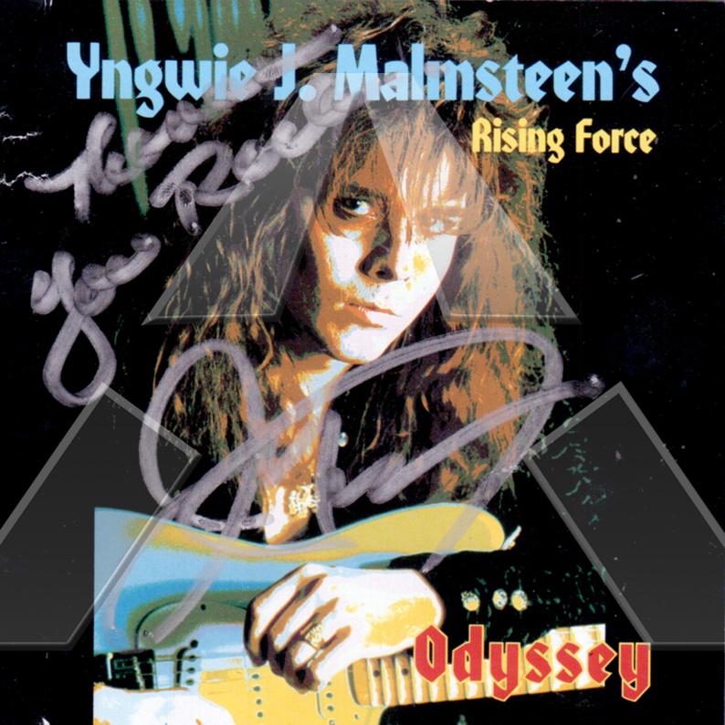 Yngwie Malmsteen ★ Odyssey (signed cd album)