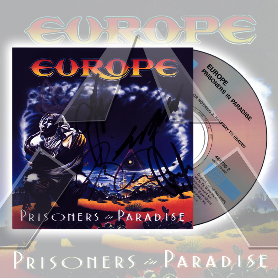 Europe ★ Prisoners in Paradise (cd album - 2 versions)