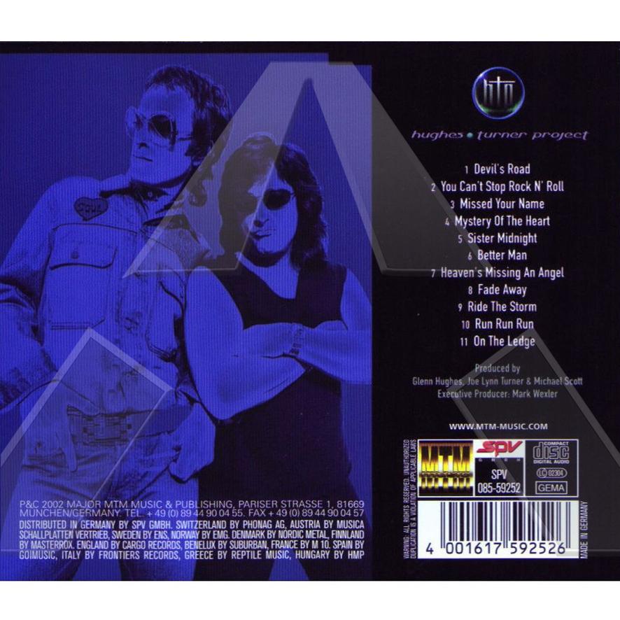Hughes Turner Project ★ HTP (cd album EU 068146)
