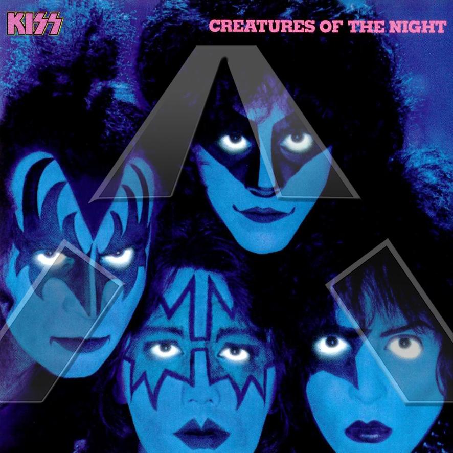 Kiss ★ Creatures of the Night (vinyl album - EU 6302219)