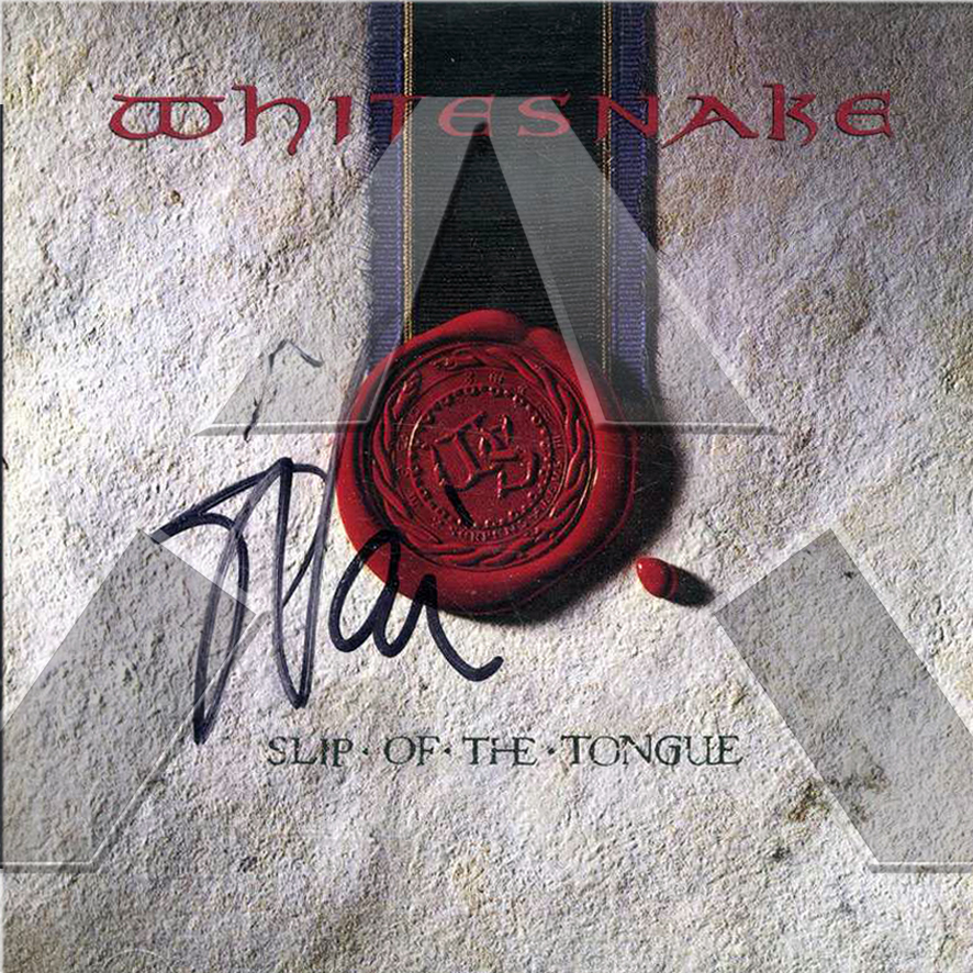 Whitesnake ★ Slip of the Tongue (cd album - 2 versions)